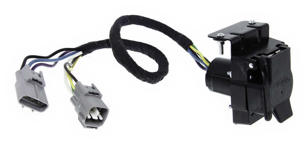 Toyota Tacoma Hopkins Plug-In Simple Vehicle Wiring Harness for Factory Tow  Package - 7-Way and 4-Flat Connectors | 2014 Toyota Tacoma Trailer Wiring |  | etrailer.com