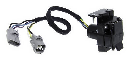 toyota land cruiser hopkins plug-in simple vehicle wiring harness for  factory tow package - 7-way and 4-flat connectors  etrailer.com