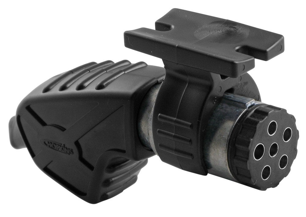 Hopkins Endurance 6-Way Trailer Connector - Trailer End - Ergonomic Design - w/ Holder 6 Round HM48440
