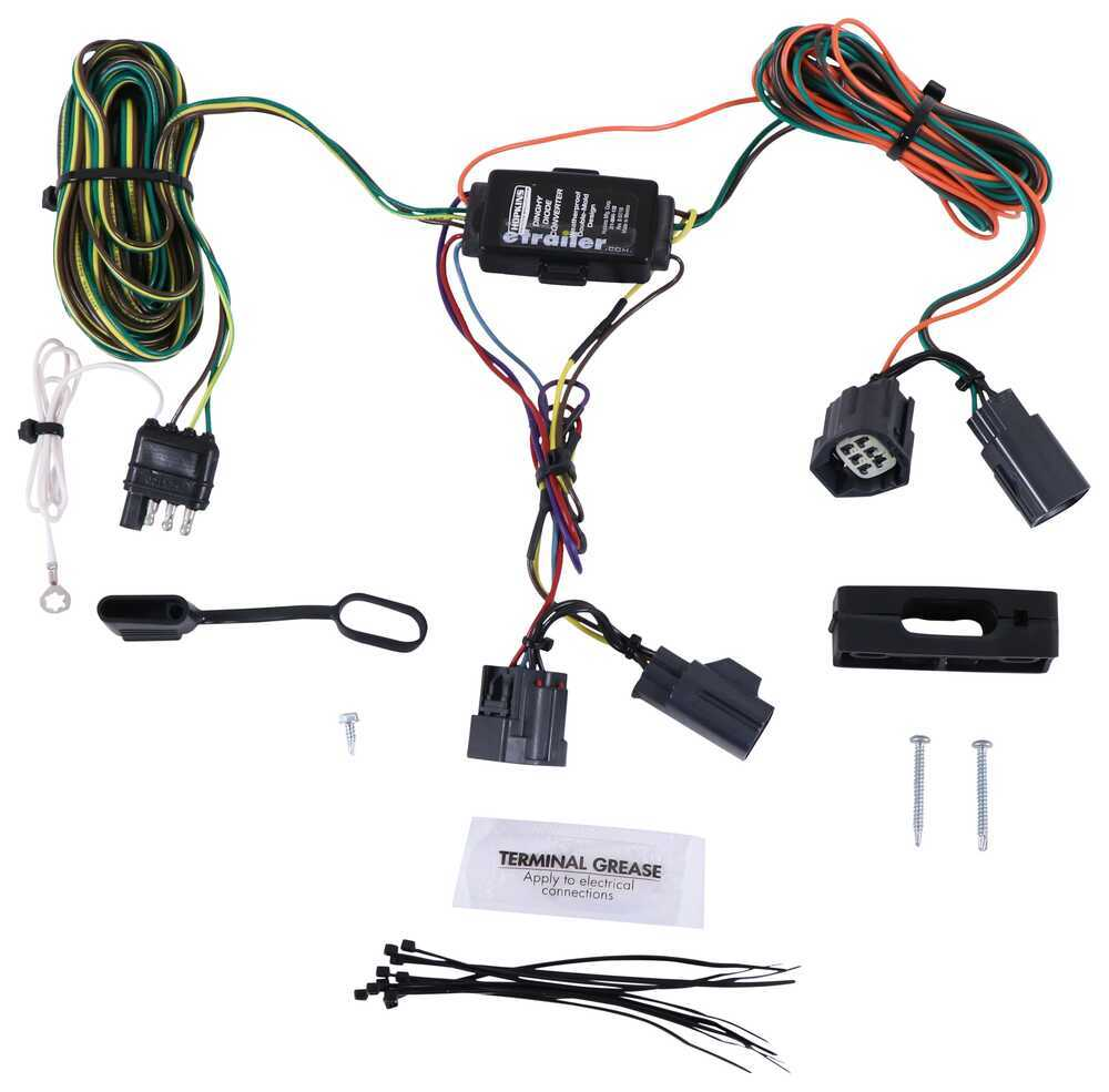 Hopkins Custom Tail Light Wiring Kit for Towed Vehicles Wiring Harness HM56200