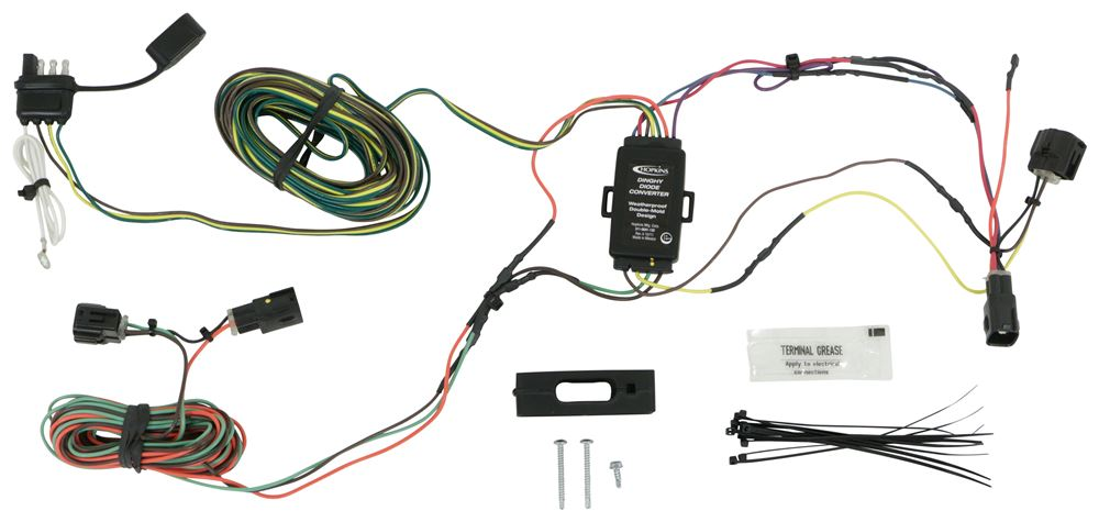 Hopkins Custom Tail Light Wiring Kit for Towed Vehicles Wiring Harness HM56202