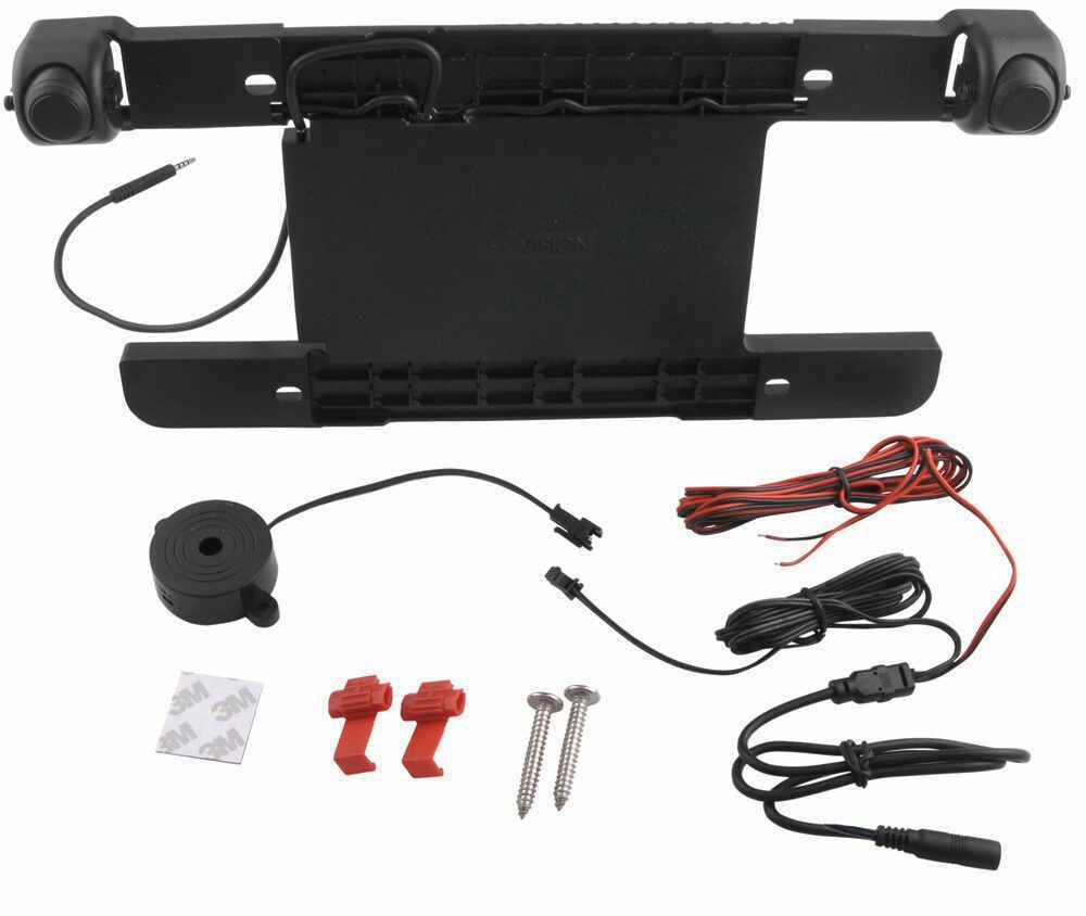 Hopkins Backup Sensor System - Audible Alert - License Bracket Mount Back Up Alarm,Sensor System HM60100VA