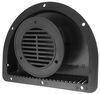 redline rv vents and fans no fan 2-piece polypropylene trailer vent for 3 inch diameter hole - black