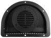redline rv vents and fans wall vent no fan 2-piece polypropylene trailer for 3 inch diameter hole - black