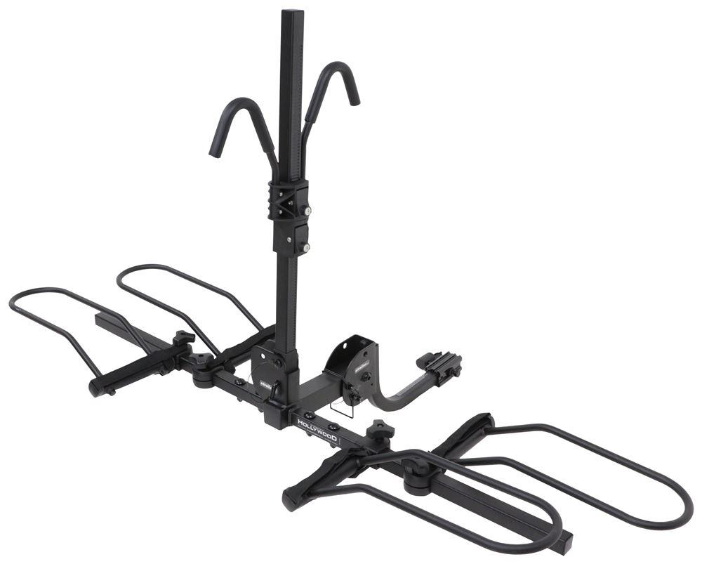 "Hollywood Racks Sport Rider 2 Bike Rack for Fat Bikes - 1-1/4""/ 2"" Hitches - Frame Mount 2 Bikes HR1000Z-FB"
