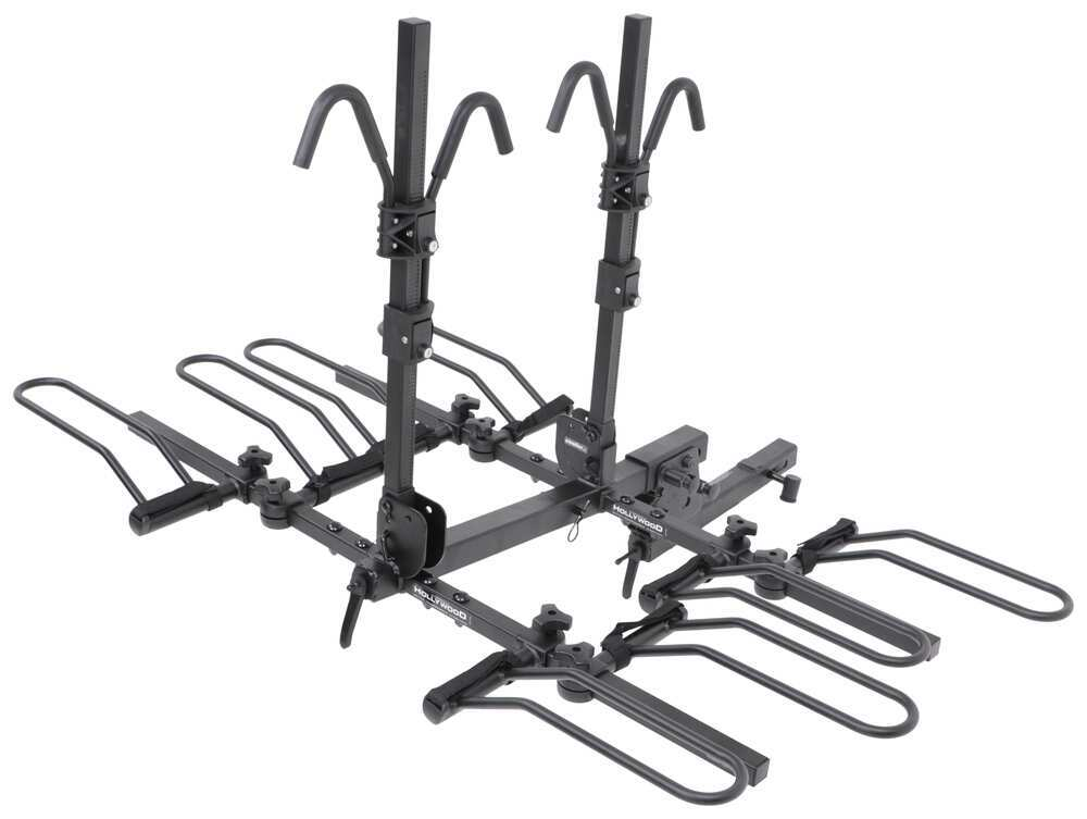 """Hollywood Racks Sport Rider SE 4 Bike Platform Rack - 2"""" Hitches - Frame Mount Tilt-Away Rack,Fold-Up Rack HR1400Z"""