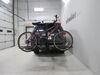 0  hitch bike racks hollywood platform rack tilt-away fold-up in use