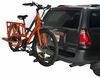 0  hitch bike racks hollywood fold-up rack tilt-away 2 bikes in use