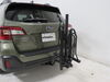 2019 subaru outback wagon hitch bike racks hollywood 2 bikes fits 1-1/4 inch and hr200z