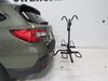 2019 subaru outback wagon hitch bike racks hollywood platform rack fold-up on a vehicle