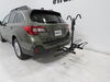 2019 subaru outback wagon hitch bike racks hollywood platform rack fold-up trail rider 2 - 1-1/4 inch and hitches frame mount