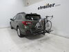 2019 subaru outback wagon hitch bike racks hollywood platform rack fits 1-1/4 inch 2 and on a vehicle