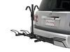 hollywood racks hitch bike platform rack 2 bikes trail rider - 1-1/4 inch and hitches frame mount