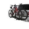 """Hollywood Racks Trail Rider Bike Rack for 2 Bikes - 1-1/4"""" and 2"""" Hitches - Frame Mount Bike and Hitch Lock HR200Z"""