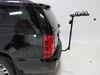 0  hitch bike racks hollywood hanging rack tilt-away fold-up on a vehicle