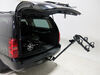 0  hitch bike racks hollywood hanging rack tilt-away fold-up commuter 2 carrier for 1-1/4 inch and hitches - tilting