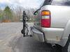 0  hitch bike racks hollywood platform rack fold-up tilt-away in use