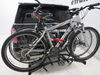 0  hitch bike racks hollywood fold-up rack 2 bikes in use