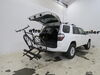 2021 toyota 4runner hitch bike racks hollywood platform rack on a vehicle