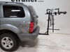 2007 dodge durango hitch bike racks hollywood hanging rack tilt-away fold-up on a vehicle