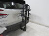 2019 subaru forester hitch bike racks hollywood hanging rack tilt-away fold-up traveler 3 carrier for 1-1/4 inch and 2 hitches - tilting