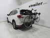 2019 subaru forester hitch bike racks hollywood tilt-away rack fold-up 3 bikes on a vehicle