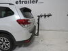 2019 subaru forester hitch bike racks hollywood hanging rack 3 bikes traveler carrier for 1-1/4 inch and 2 hitches - tilting