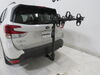 2019 subaru forester hitch bike racks hollywood hanging rack fits 1-1/4 inch 2 and on a vehicle