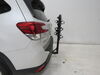 2019 subaru forester hitch bike racks hollywood hanging rack fits 1-1/4 inch 2 and traveler 3 carrier for hitches - tilting