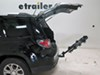 2016 gmc acadia hitch bike racks hollywood hanging rack tilt-away fold-up traveler 4 carrier for 1-1/4 inch and 2 hitches - tilting