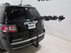 2016 gmc acadia hitch bike racks hollywood hanging rack fits 1-1/4 inch 2 and on a vehicle