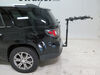 2016 gmc acadia hitch bike racks hollywood hanging rack fits 1-1/4 inch 2 and traveler 4 carrier for hitches - tilting