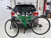 0  accessories and parts hollywood racks hitch bike trunk spare tire adapter bar in use