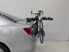 Hollywood Racks Express 3 Bike Carrier - Fixed Arms - Trunk Mount Hanging Rack HRE3 on 2014 Toyota Camry