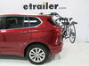 2017 buick envision trunk bike racks hollywood frame mount - anti-sway adjustable arms on a vehicle