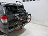 Hollywood Racks Over-the-Top 2 Bike Carrier for Vehicles w/ Spoilers - Adjustable Arms - Trunk Mount Locks Not Included HRF2