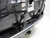 0  trunk bike racks hollywood frame mount - anti-sway adjustable arms over-the-top 2 carrier for vehicles w/ spoilers