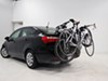 0  trunk bike racks hollywood frame mount - anti-sway fits most factory spoilers expedition 2 carrier with hatch anchors adjustable arms