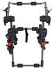 Hollywood Racks Expedition 3 Bike Carrier - Adjustable Arms - Trunk Mount 3 Bikes HRF6-3