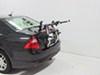 Hollywood Racks Non-Adjustable Trunk Bike Racks - HRG2 on 2012 Ford Fusion