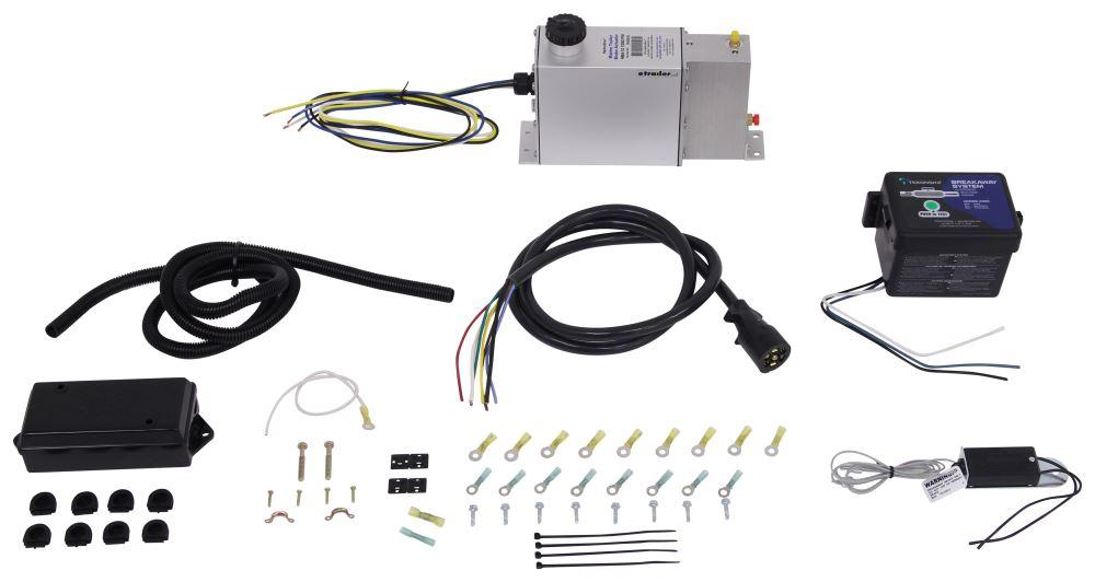 Hydrastar Electric-Hydraulic Brake Actuator - HS381-9066