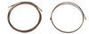 hydrastar accessories and parts trailer brakes hydraulic drum disc brake line kit - single axle 15' long 1/8 inch main