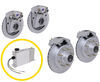 "HydraStar Disc Brake Kit w/ Actuator for Tandem Axle Trailers - 13"" Hub/Rotor - 8 on 6-1/2 - 7K 7000 lbs Axle HSE7K-T1"