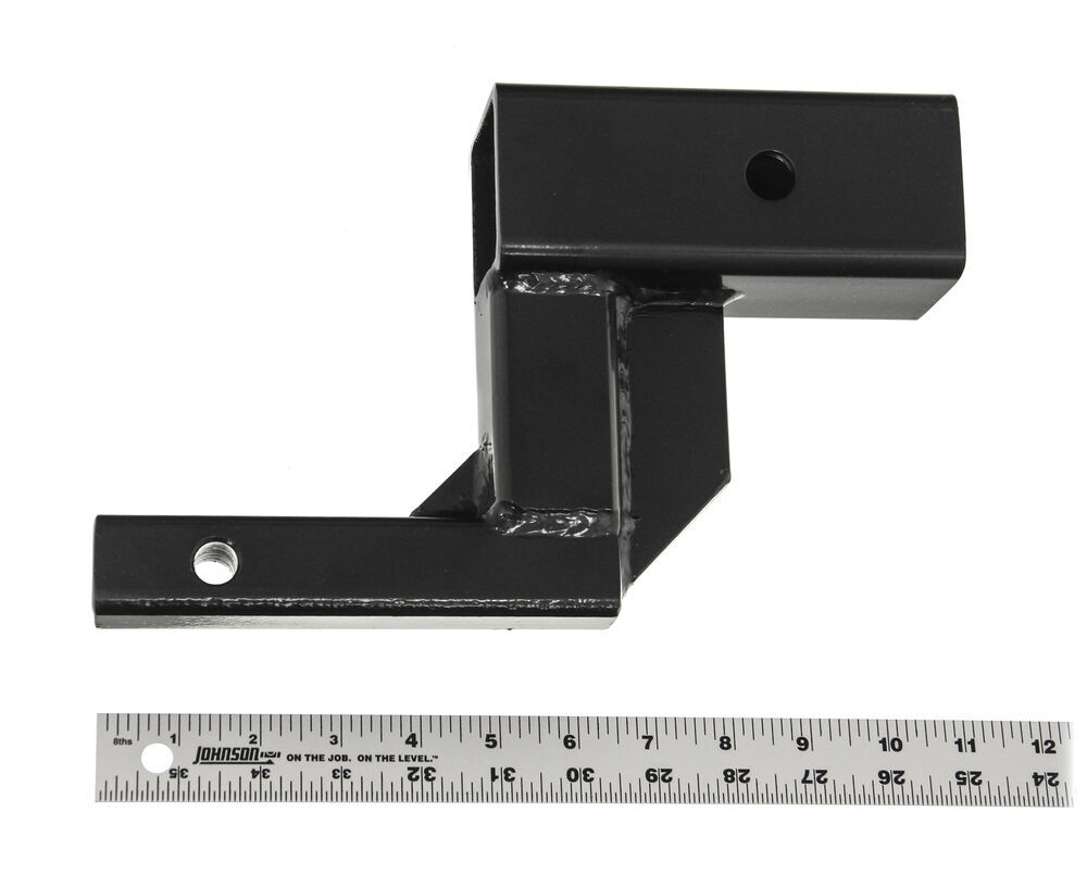 "Hitch Adapter 1-1/4"" to 2"" Trailer Hitch Receiver with 5"" Rise 1-1/4 Inch to 2 Inch HT5R"