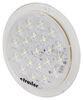 Opti-Brite Low Profile LED RV Dome Light - 214 Lumens - Round - Clear Lens - 12V/24V 6 Inch Diameter ILL21CB
