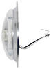 Opti-Brite LED Trailer Dome Light w/ Steel Base - Chrome Plated - 168 Lumens - Round - Clear Lens Surface Mount ILL91CB
