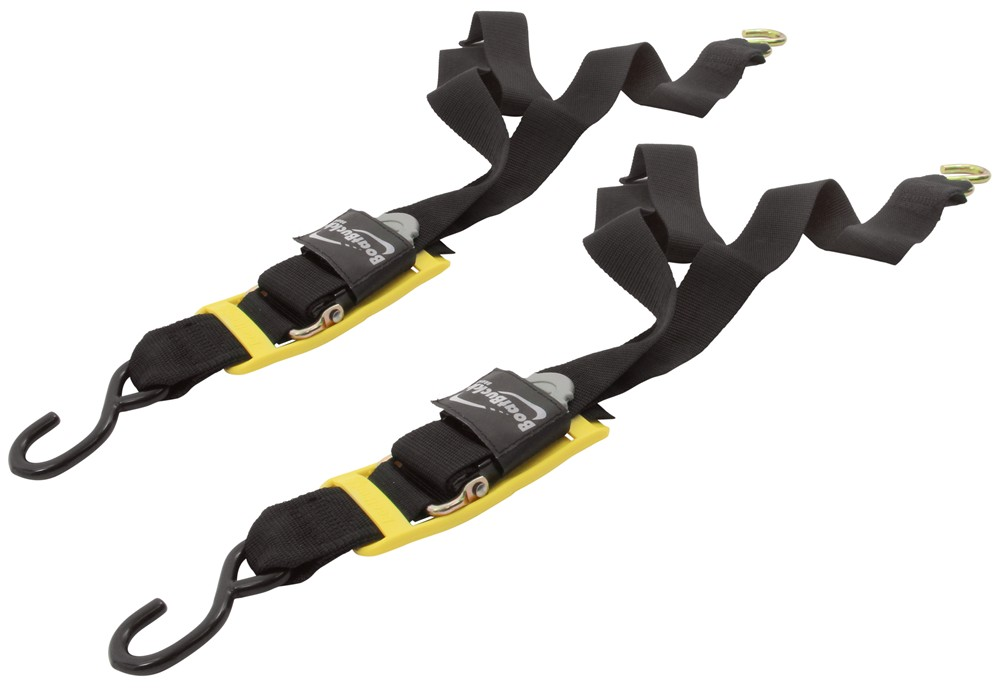 "BoatBuckle Pro Series Kwik-Lok Transom Tie-Down Straps - 2"" x 2' - 400 lbs - Qty 2 0 - 5 Feet Long IMF17631"