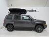 Inno Shadow 16 Rooftop Cargo Box - 13 cu ft - Matte Black Dual Side Access INBRA1210BK