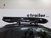 0  roof box inno low profile wedge 660 rooftop cargo - 11 cu ft gloss black
