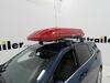Inno Wedge Plus Rooftop Cargo Box - 13 cu ft - Gloss Red Medium Capacity INBRM864RE on 2021 Chevrolet Equinox